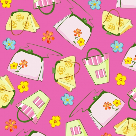 background with bags