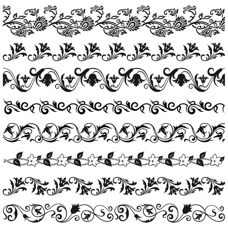 bordures fleurs: Parterres de fleurs