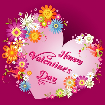 picture card: Happy Valentines Day card