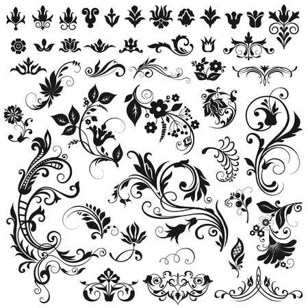 for design: Vector graphic elements for design