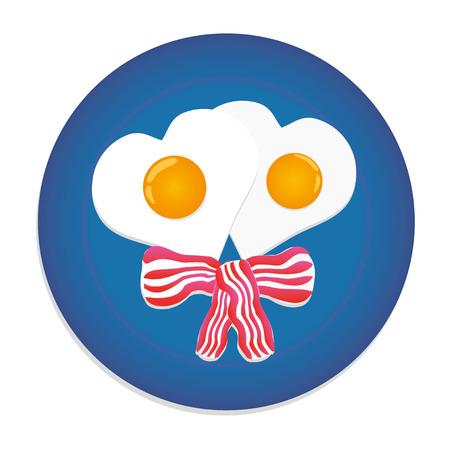 festive: festive breakfast Illustration
