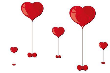 baloons: hearts baloons