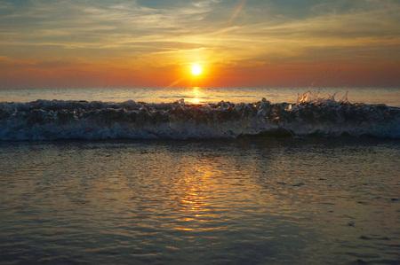 sputter: sunset