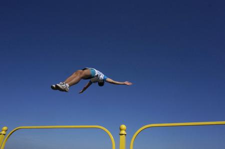 acrobatics: acrobatics