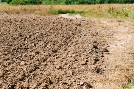 agricultural arable land, ploughed field