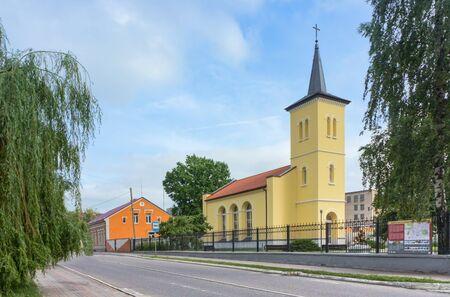 Salzburg Church, Evangelical Lutheran Church, Gusev, Kaliningrad region, Russia, June 16, 2019