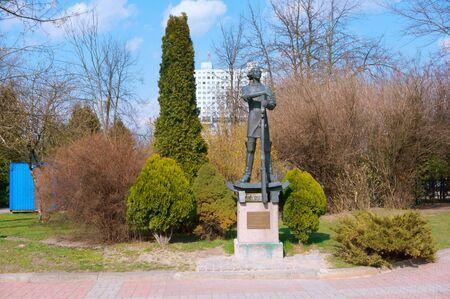 Peter the great Embassy in Koenigsberg monument to Peter the great in Kaliningrad, Kaliningrad, Russia, Eastern Europe, 6 April 2019