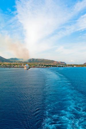 departing: Departing the island