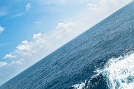 diagonal: Diagonal seascape