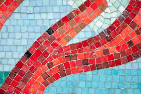 arty: a image of a colorful arty mosaic