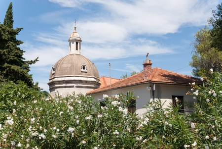 a dome in the croatian city of stari grad on the island of hvar Stock Photo - 12959130