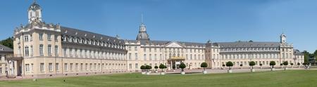 karlsruhe: the castle of karlsruhe in germany