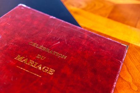 printed matter: Wedding book
