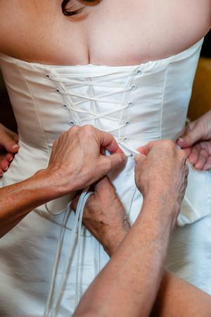 bridal dress: Bridal dress Archivio Fotografico