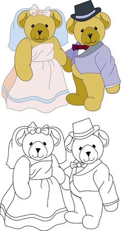 Teddy Bears wedding