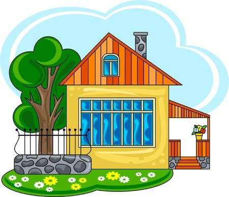 blockhouse: Cute little house