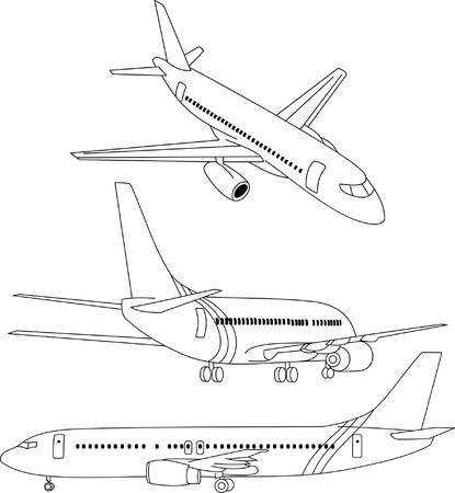 air transport Illustration