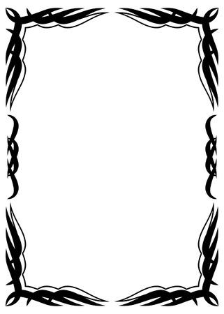 prickles: Cornice decorativa  Vettoriali