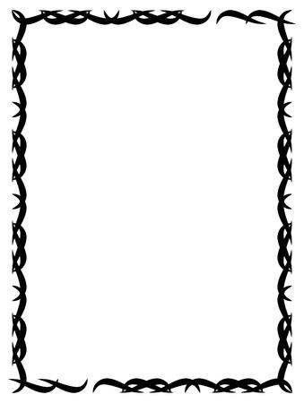prickles: Decorative frame