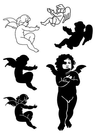 cherubs 版權商用圖片 - 8786312
