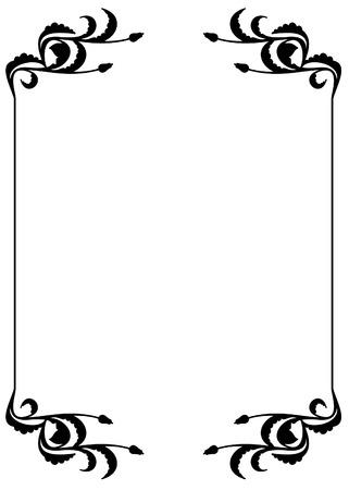 silhouette frame