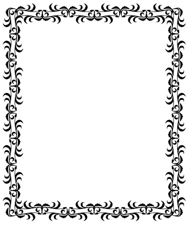 bookish: silhouette frame