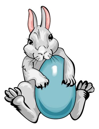 Easter rabbit Stock Vector - 17667240