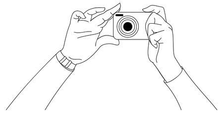 Taking a photo Stock Vector - 18585588
