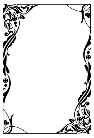 decorative: Elegant frame Illustration