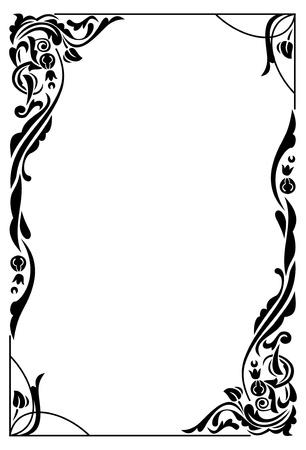Elegant frame Vettoriali