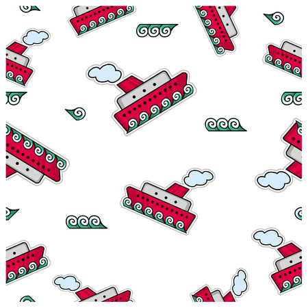 Pattern transportation Vector