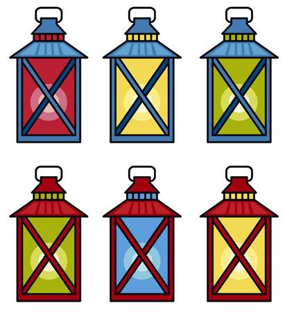 fixture: lanterns
