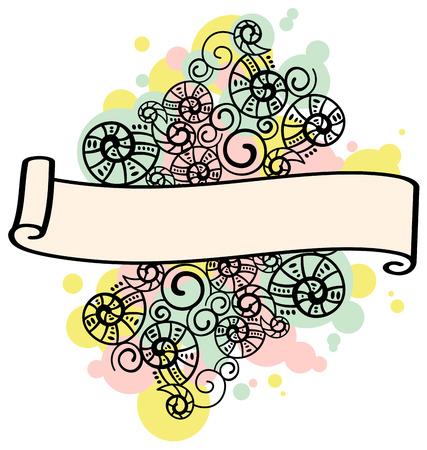 twiddle: Frame with color splash