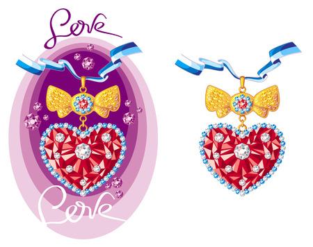 lug: Jewellery hearts