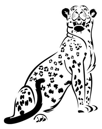 Cheetah Ilustração
