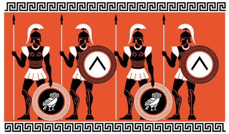 Guerreros del griego clásico