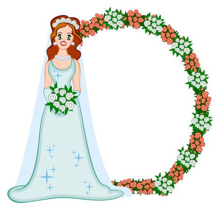 decoracion boda: Novia y decoraci�n de boda