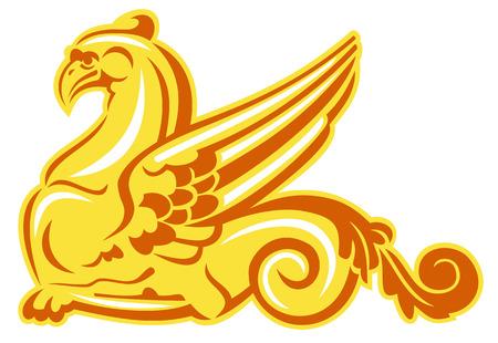 griffon: Golden griffin