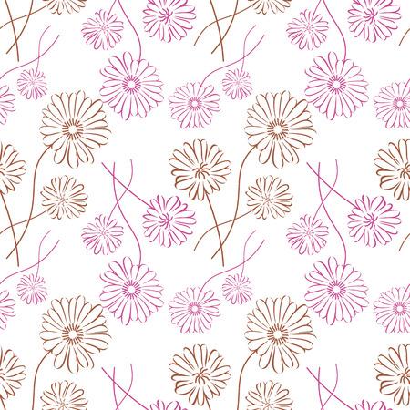 카모마일 실루엣과 원활한 패턴