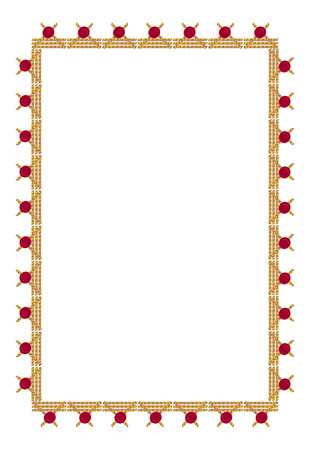stitch: Stitch frame Illustration