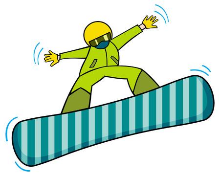 snowboard: Jumping snowboard