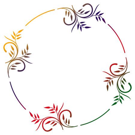 marcos redondos: Marco ornamental Ronda