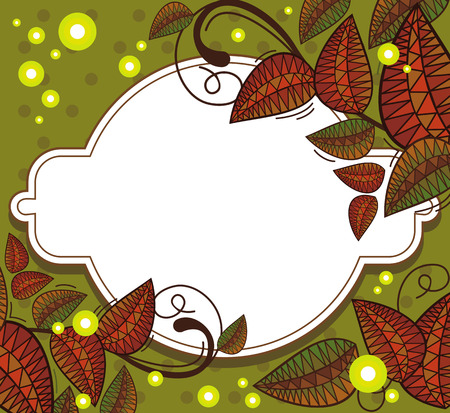 folk tales: Mysterious floral background with sparkles clip art.