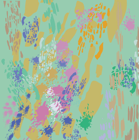 blots: Abstract background with colorful blots and spots.