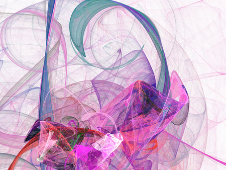 Abstract fractal background. Design element for brochure, advertisements, flyer, web and other graphic designer works.  Digital collage.