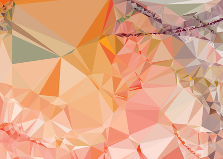 Abstract polygonal geometric background. Vector clip art.
