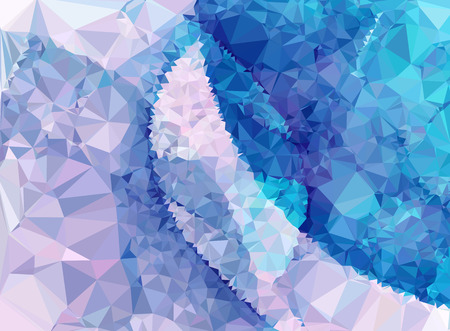 splinters: Abstract multicolor mosaic backdrop. Geometric low polygonal background. Design template. Vector clip art.