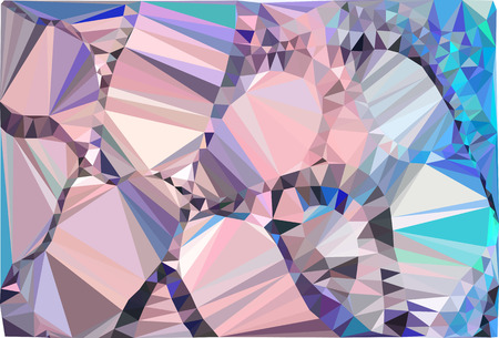 splinters: Abstract multicolor mosaic backdrop. Geometric low polygonal background. Design element for posters, business cards, presentations layouts, showcases. Vector clip art.