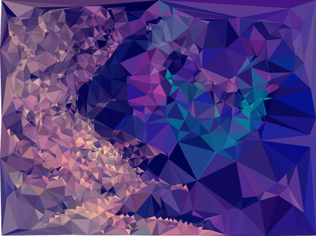 diamond plate: Abstract multicolor mosaic backdrop. Geometric low polygonal background. Design element for book covers, presentations layouts, title backgrounds. Vector clip art.