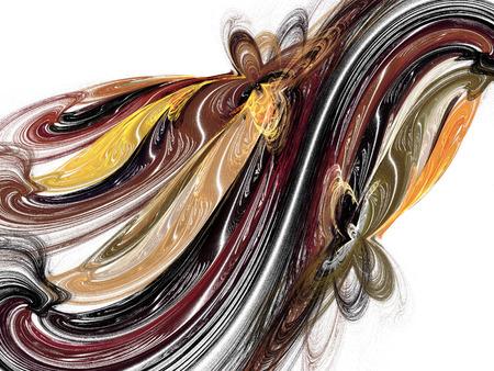 Abstract fractal background. Design element for graphics artworks. Digital collage.